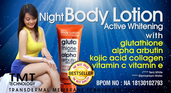 Glutera Night Body Lotion