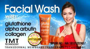 facial wash glutera