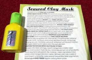 masker Seaweed Clay Mask