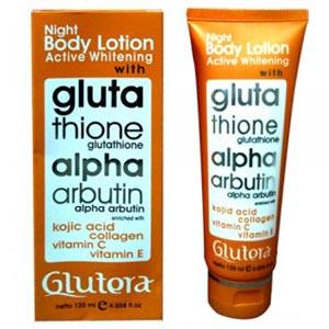 night body lotion glutera