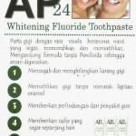 Pasta Gigi Pemutih AP24 (Nu Skin)