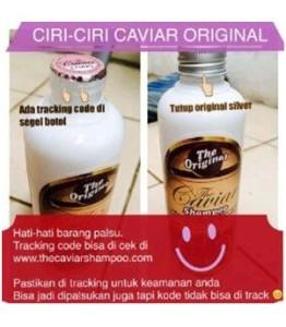 Ciri-ciri-The-Caviar-Shampoo-Asli-Original
