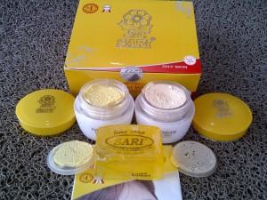 Cream Sari Oily Skin