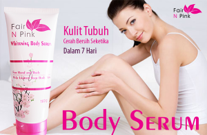 Body Serum Fair N Pink Whitening