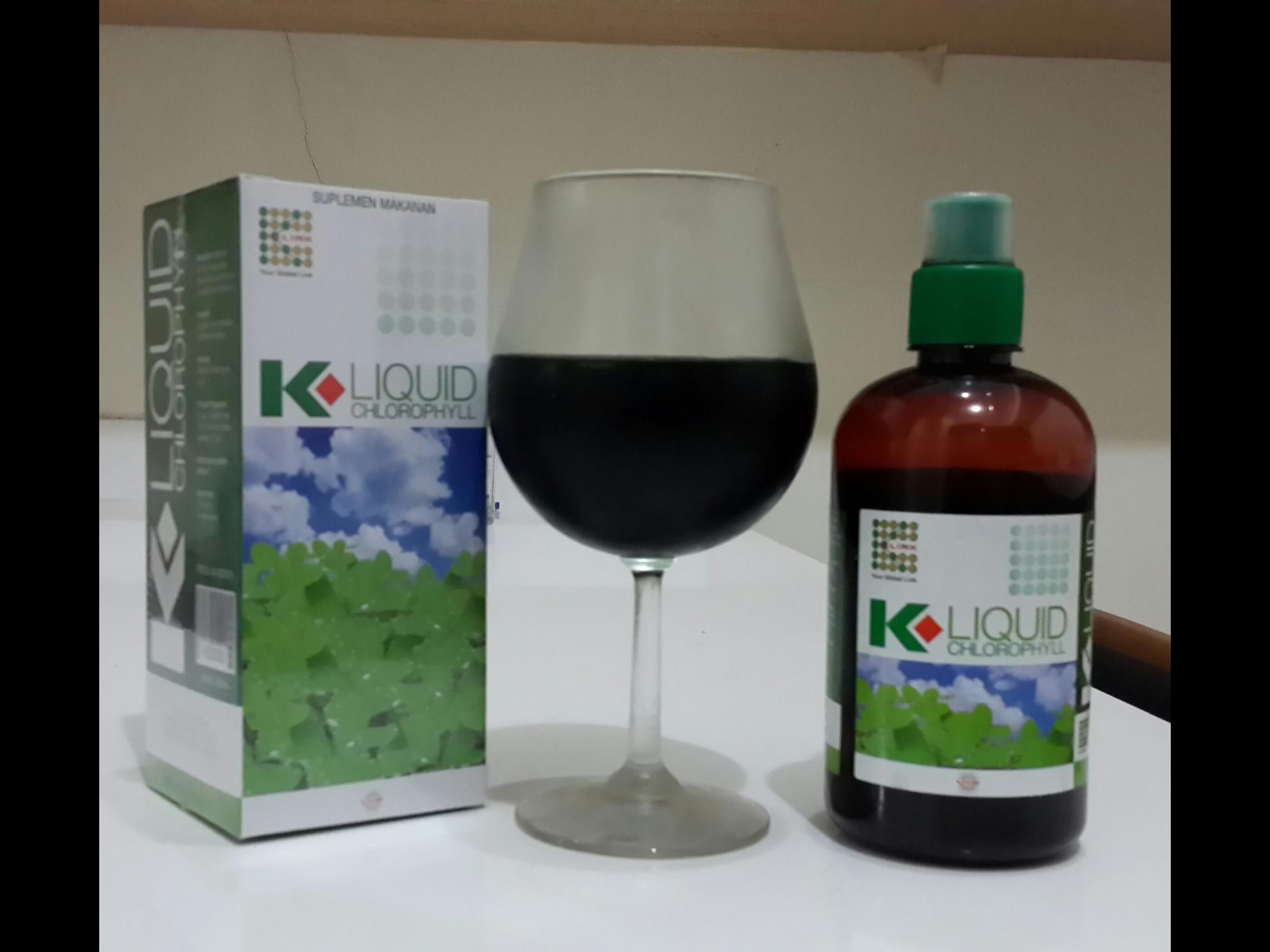 K Liquid Chlorophyll Jual Kosmetik Online Bpom Lengkap Asli Dan Klorofil Chlorophyl Sinergy