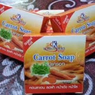 Carrot K-Brothers Soap