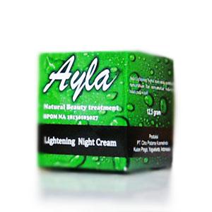 Lightening Night Cream Ayla