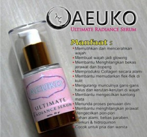 Serum Aeuko Ultimate Radiance