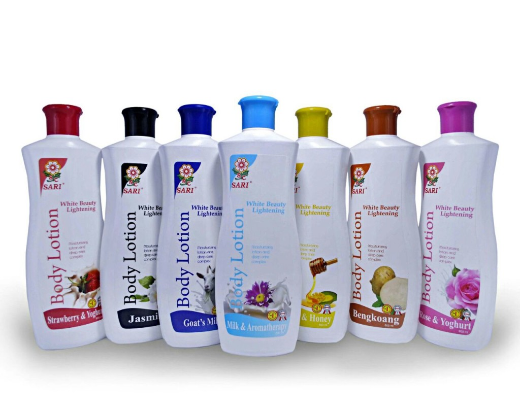 body lotion sari
