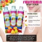 Jual Body Scrub Fruitamin Lulur Untuk Badan