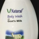 Jual V Natural Body Wash Goat's Milk Sabun Badan