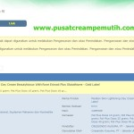 Jual Cream Vampire With Rose Extract Plus Glutathione Perawatan Wajah