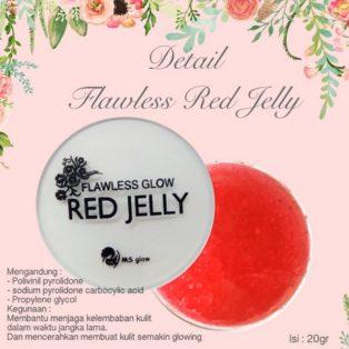 Flawless Glow Red Jelly Cream Perawatan Wajah