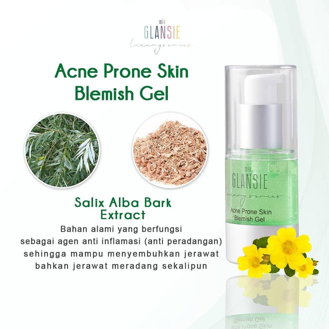 26 Cara Cepat Menghilangkan Jerawat Batu Dan Bekas Jerawat: Jual Glansie Serum Acne Prone Skin Perawatan Wajah