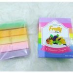 Sabun Fruity Extract 10 in 1 Rainbow Soap Pemutih Badan