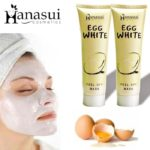 Hanasui Egg White Peel Off Mask Masker Wajah