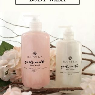 Ilustra Goats Milk Body Wash