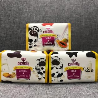 Castella Whitening Milk Soap