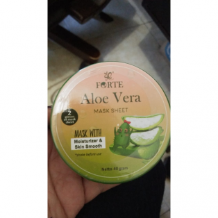 Forte Aloevera Mask Sheet