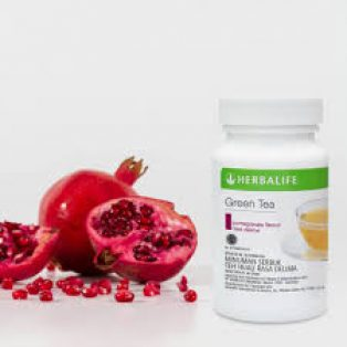 Herbalife Green Tea Rasa Delima