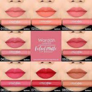 Wardah Colorfit Velvet Matte Lip Mousse