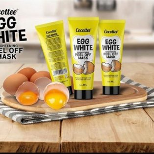 Cocottee Brightening Peel Off Face Mask Egg White