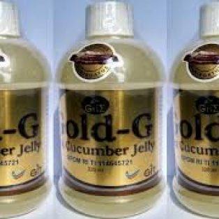 Jelly Gamat Gold-G Sea Cucumber 320Ml