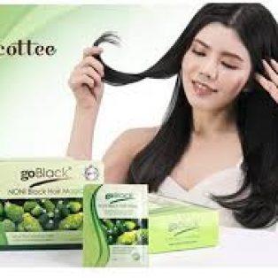 NONI Go Black Hair Magic Shampo Original BPOM