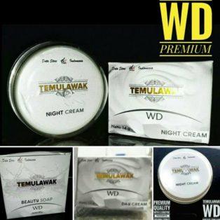 Jual Cream Temulawak WD Premium Cream Perawatan Wajah