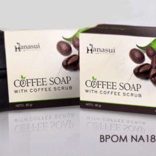 Jual Hanasui Coffee Soap Perawatan Badan