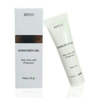 Jual Ertos Sunscreen Gel Perawatan Wajah