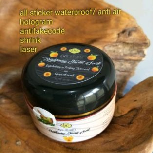 Jual AWS Beauty Brightening Black Facial Scrub Perawatan Wajah