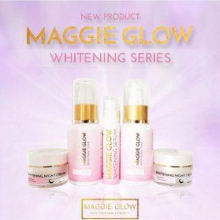 Maggie Glow Whitening 5 in 1 Cream Perawatan Wajah