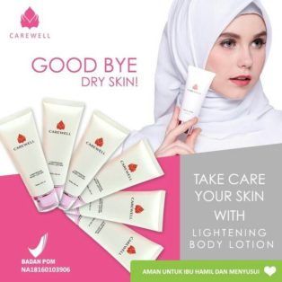 Lightening Body Lotion Carewell Perawatan Kulit