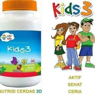 HDI KIDS3 Suplemen Untuk Nutrisi Anak