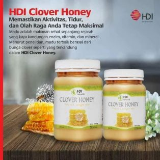 HDI Clover Honey 500 Gram