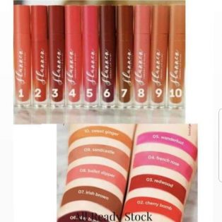 Jual Shannen Lipstick Creamy Lip Matte