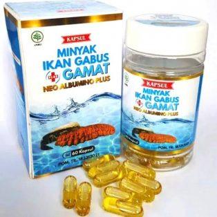 Neo Albumino Plus Minyak Ikan Gabus