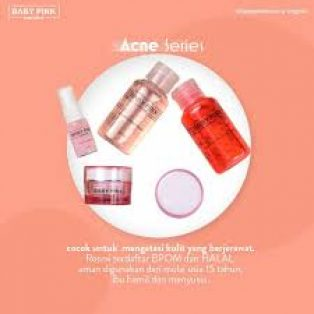 Baby Pink Acne Skin Care