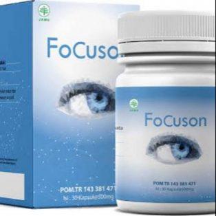 Suplemen FoCuson obat mata